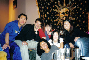 Me with some amazing international students in 1999.