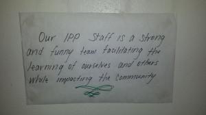 IPP Staff Vision