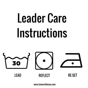 Leader Care Instructions 3